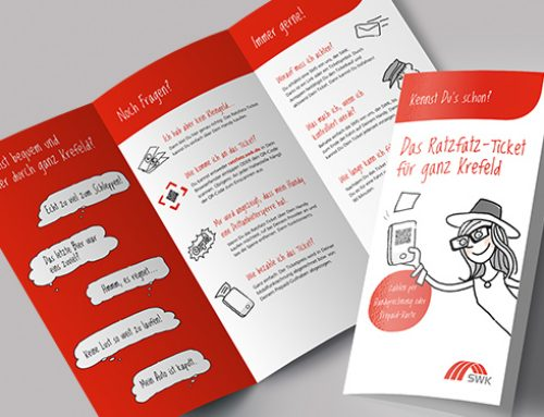 "SWK Mobil, Flyer ""Ratzfatz-Ticket"""