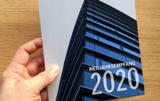 Einladung zum Neujahrsempfang 2020 der Architektenkammer Nordrhein-Westfalen