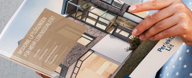 Der Produktkatalog von Perfekta Lift in neuem Design von prahl_recke